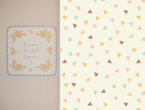 Love Mae Fabric Decals + Gift Wrap