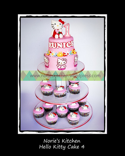 Norie's Kitchen - Hello Kitty Cake 4 by Norie's Kitchen