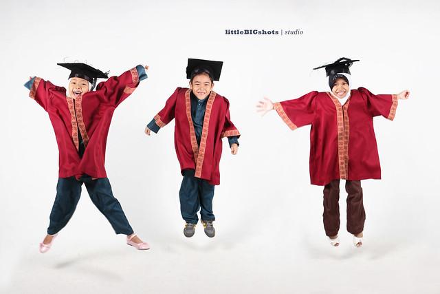 Congrats Lil Grads | Graduation Studio Portraiture