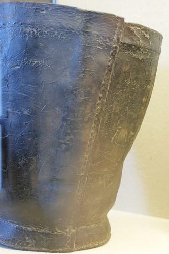 Leather Fire Bucket, 1820-30