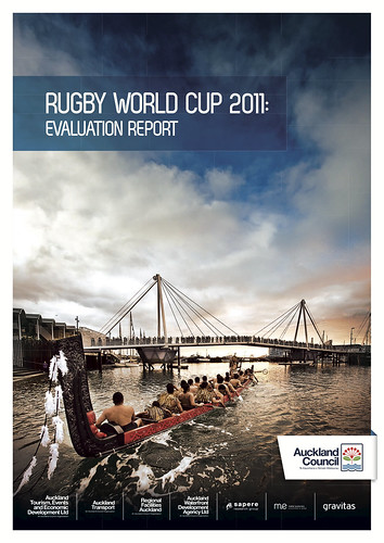 Rugby World Cup 2011: Evaluation Report from Auckland