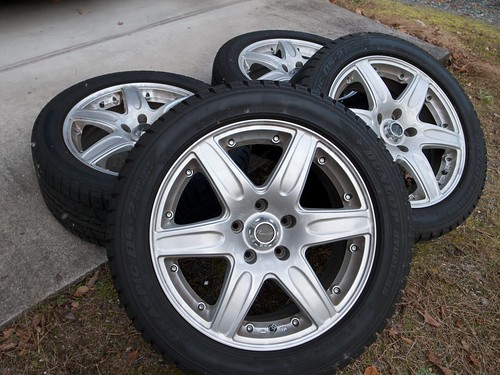 Mazda RX-8 — Replacing Tires