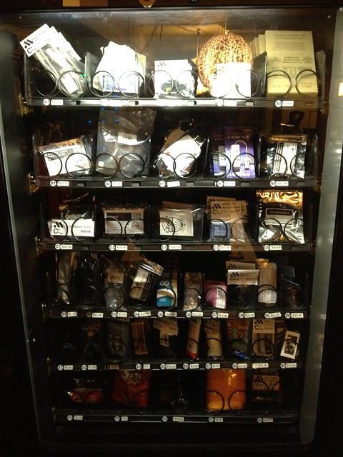 Coolest vending machine! Filled with arduinos & various parts