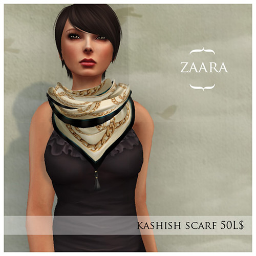 {Zaara} kashish scarf for Fifty Linden Friday
