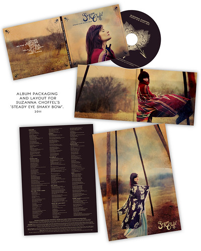 Suzanna Choffel's 'Steady Eye Shaky Bow' Album Art