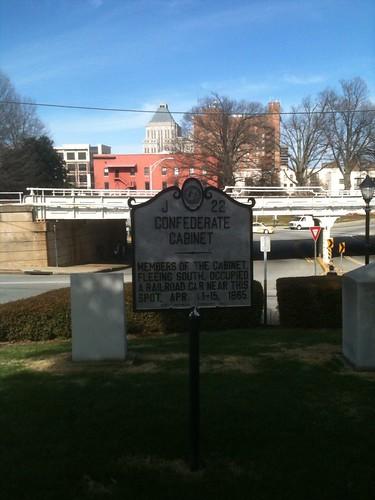 CONFEDERATE CABINET by Greensboro NC