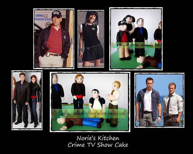 Norie's Kitchen - Crime TV Show Cake