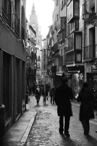Calles de Toledo, España.