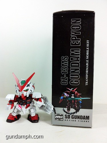SD Gundam Online Capsule Fighter EPYON Toy Figure Unboxing Review (3)