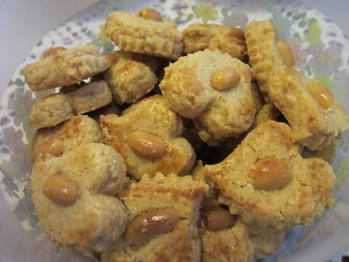 Aroma's peanut cookies