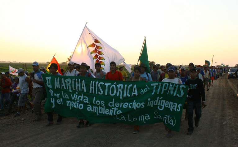 VIII Marcha por el TIPNIS. Autor. RAraoz