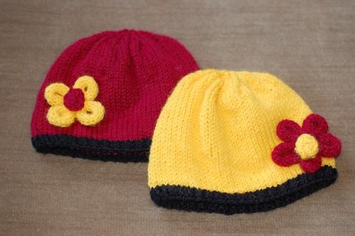 School Colors Baby Hats