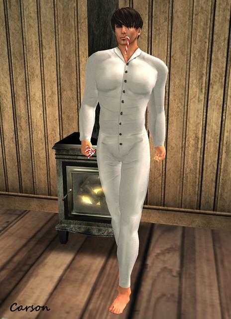 Cilian'gel 1920's Boutique - Got Combination Natural Male Undergarments