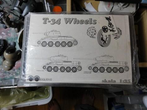 T34 車輪