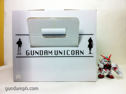 Banpresto Gundam Unicorn Head Display  Unboxing  Review (5)