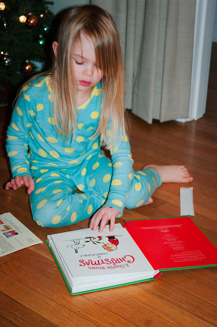 sadie and peanuts xmas book