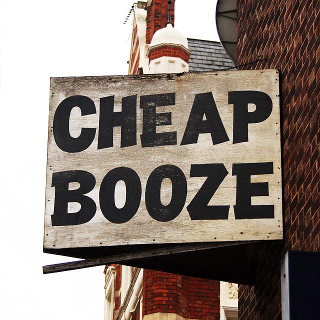 cheap booze