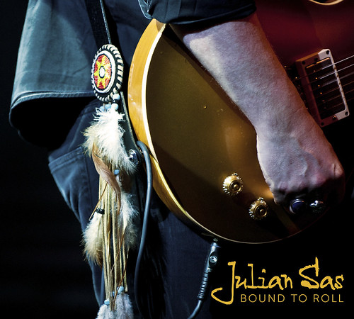 Julian Sas - Bound To Roll (CD cover)