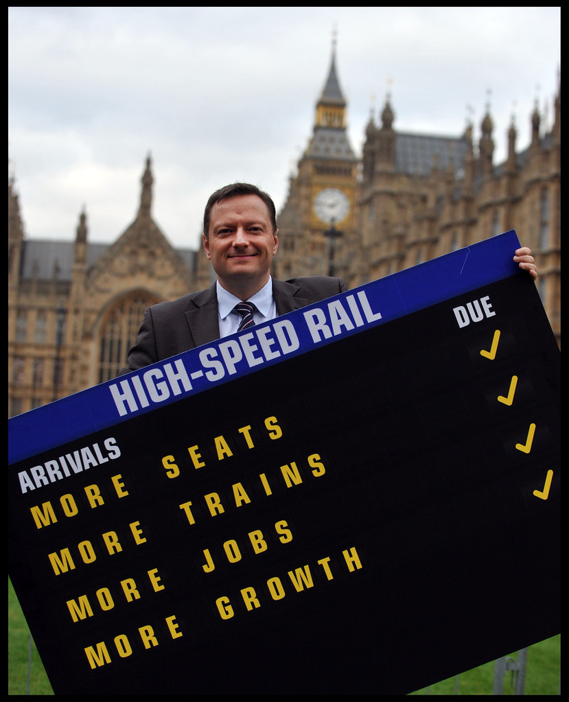 Yorkshire on Track for High Speed Rail
