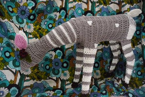 Crocheted Fawn