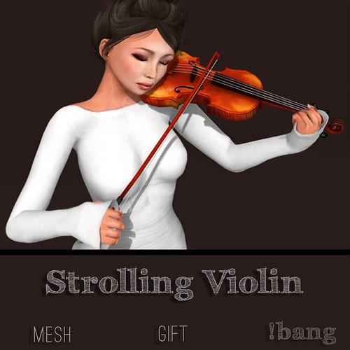 !bang - strolling violin {gift}