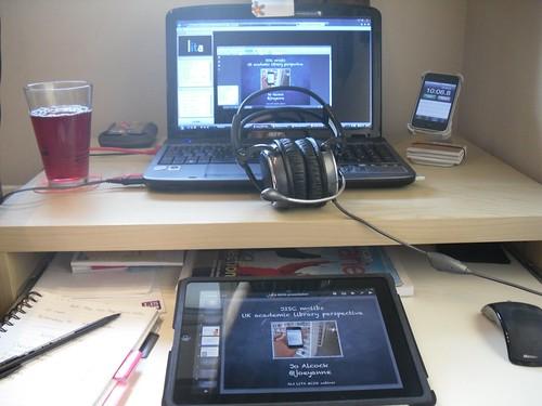 Webinar setup
