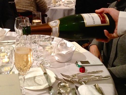 乾杯はシャンパンで!