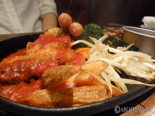 Mix grill set (in Kyoto)