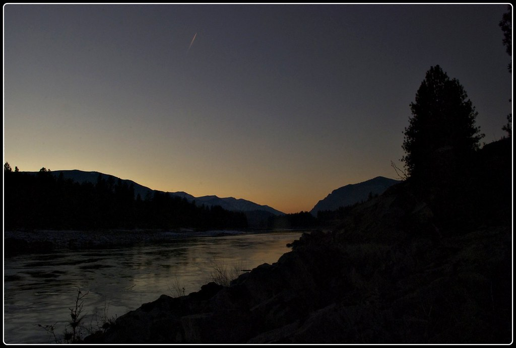 Clark Fork evening (6:15 PM)