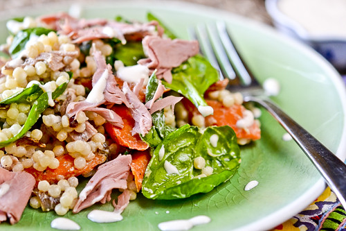 Roast Beef Couscous Salad 3