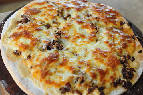 Cheesesteak Pizza