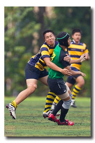 Kah Yi Wraps Him Up! by Dad Bear