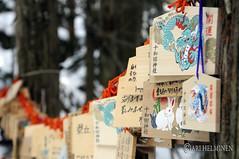 Shrine in 十和田湖 Lake Towada