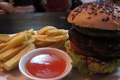 Vietnamese Veggie Burger