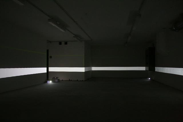 mayer+empl . HZ . interactive video mapping installation . munich . 2011