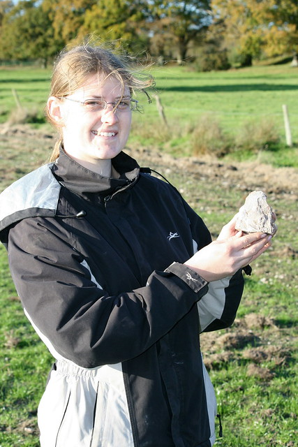 Field walking 27 Nov 2011: Palaeolithic hand axe