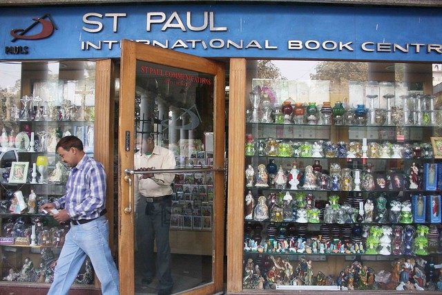 City Landmark - St Paul International Book Center, Connaught Place