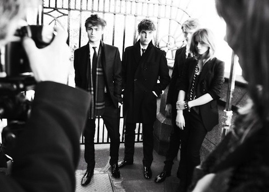 Autumn:Winter 2009 Campaign - Behind The Scenes (4)