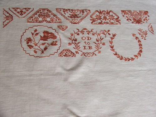 Beatrix Potter's Quaker Sampler - Needleprint