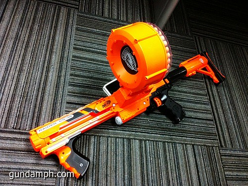 NERF Sale 50% Off Stampede Raider Recon Unboxing Review (65)