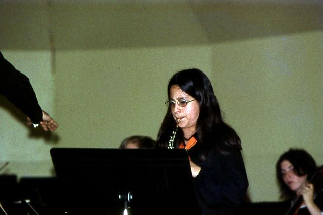 Nancy Playing Albinoni