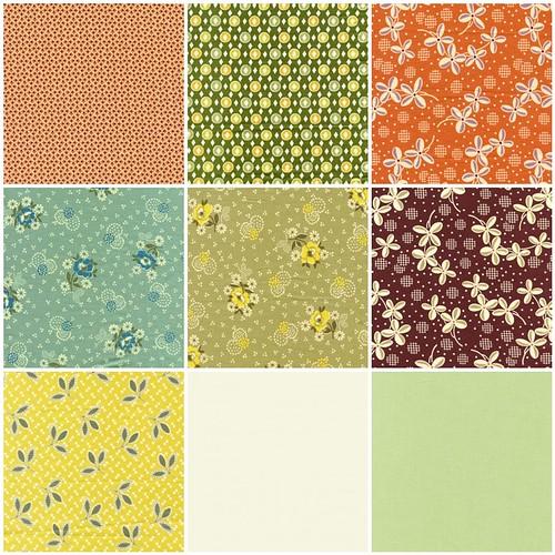 January Minx fabrics