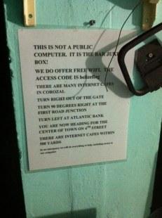 Rules of Seabreeze hotel in Corozal