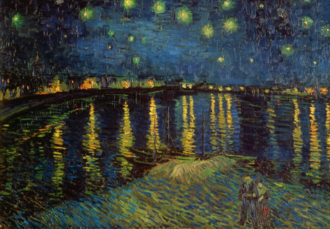 Vincent Van Gough Starry Night Over The Rhone