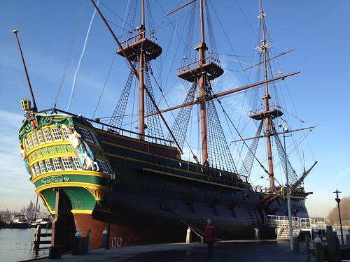 VOC replica ship