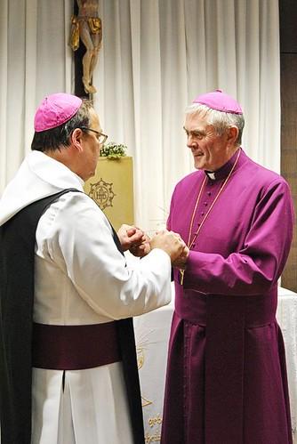 Abbed Klaus Schlapps og biskop Roald