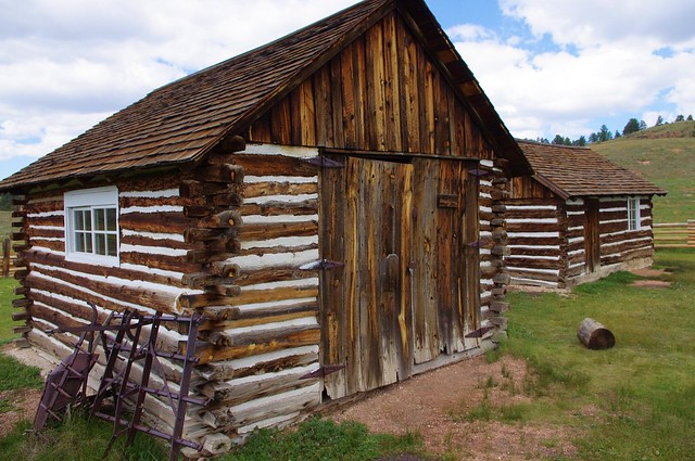 Hornbek Homestead Buildings, Florissant Fossil Bed National Monument, Colorado, September 9, 2011