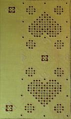 Yellow Mat 2 close up