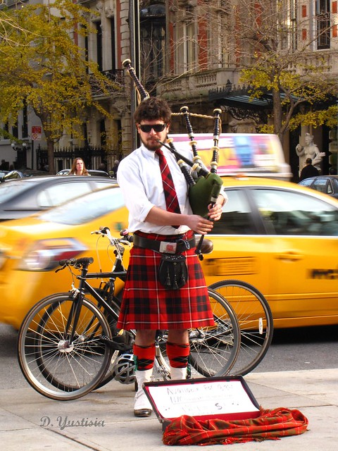 The Bagpipe Man