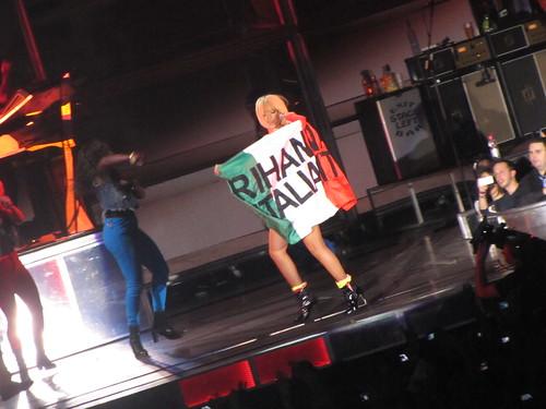 Rihanna live at Palaisozaki Torino